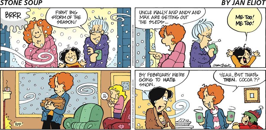 Stone Soup for Nov 29, 2009 Comic Strip