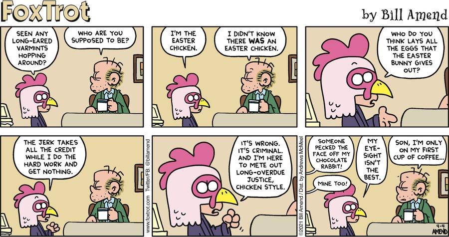 FoxTrot Comic Strip for April 04, 2021