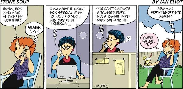 Stone Soup - Sunday May 31, 2020 Comic Strip