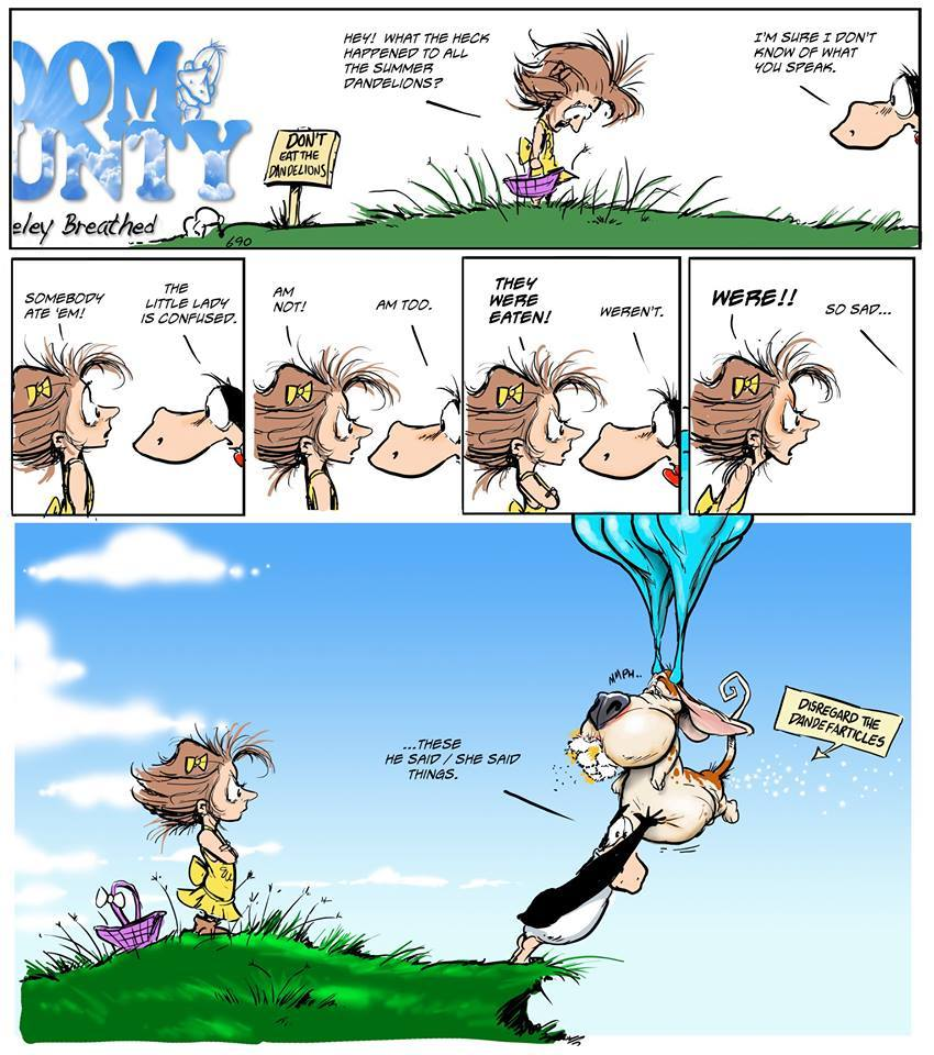 Bloom County 2019 Comic Strip for October 04, 2018
