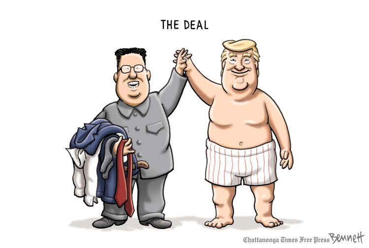 Clay Bennett Comic Strip for June 13, 2018