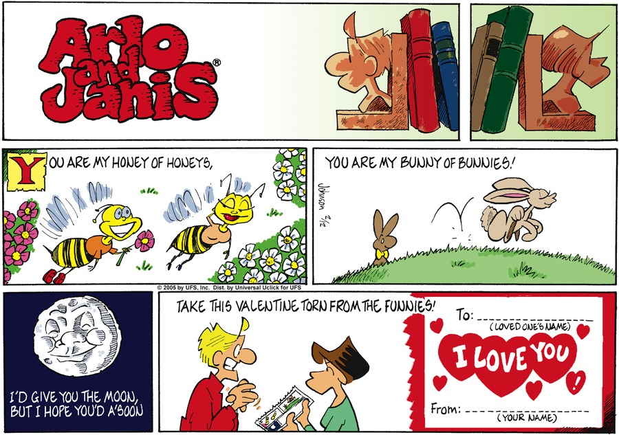 Arlo and Janis Comic Strip for February 12, 2012