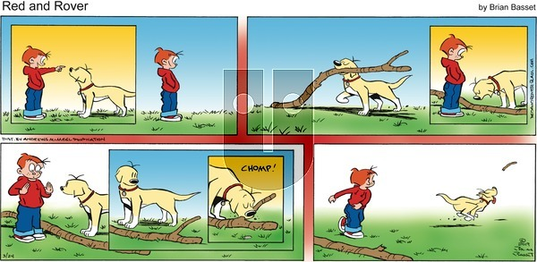 Red and Rover on Sunday March 24, 2019 Comic Strip