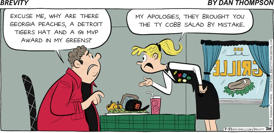 Brevity Comic Strip for July 21, 2019