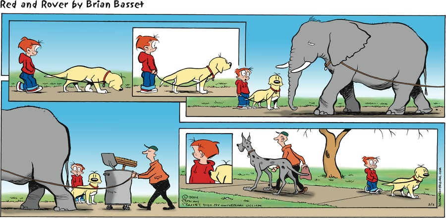 Red and Rover for Mar 2, 2014 Comic Strip