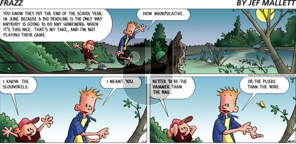 Frazz on Sunday June 2, 2019 Comic Strip