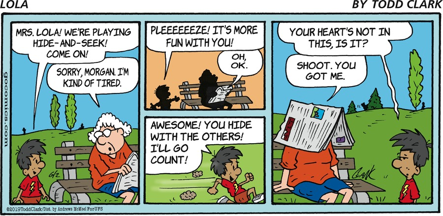 Lola Comic Strip for June 02, 2019