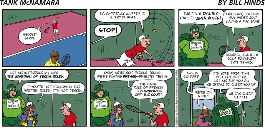 Tank McNamara Comic Strip for June 20, 2021