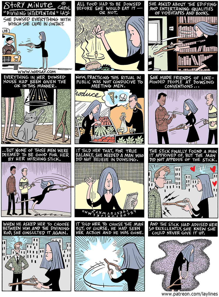 Lay Lines Comic Strip for June 08, 2016