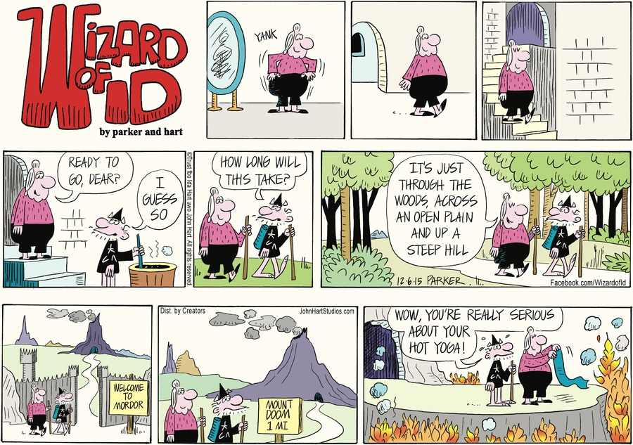 Wizard of Id Comic Strip for December 06, 2015