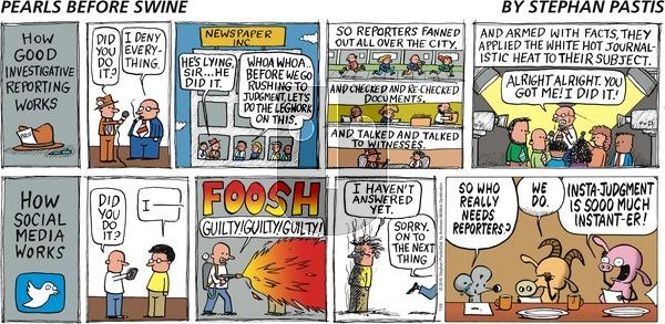 Pearls Before Swine - Sunday July 28, 2019 Comic Strip