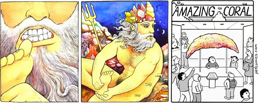 Perry Bible Fellowship Comic Strip for March 25, 2019