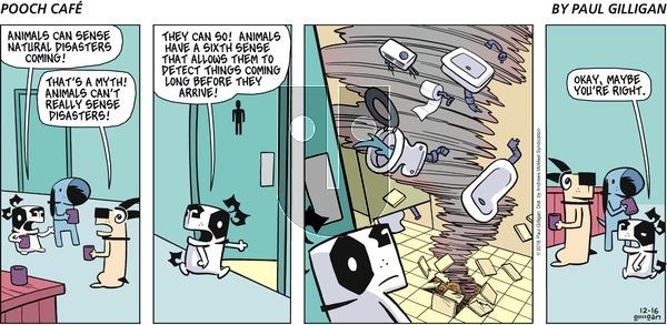 Pooch Cafe on Sunday December 16, 2018 Comic Strip