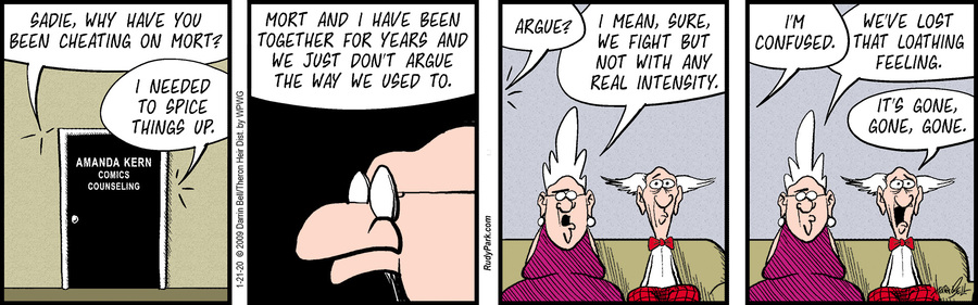 Rudy Park Comic Strip for January 21, 2020