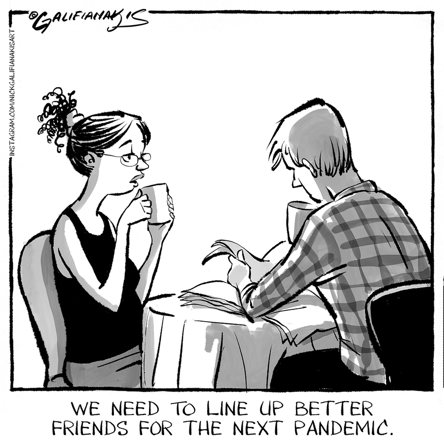 Nick and Zuzu Comic Strip for June 15, 2021
