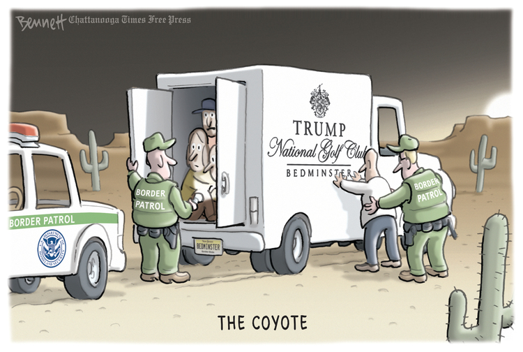 Clay Bennett Comic Strip for February 19, 2019