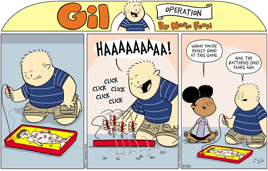 Gil Comic Strip for July 18, 2021