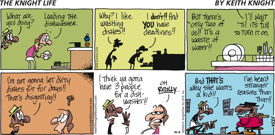 The Knight Life Comic Strip for May 09, 2021