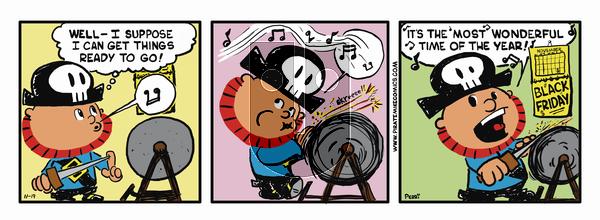 Pirate Mike on November 26, 2018 Comic Strip