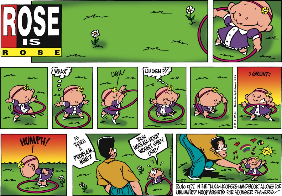 Rose is Rose for Apr 27, 2014 Comic Strip