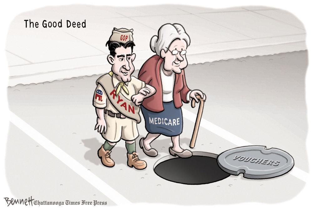 Clay Bennett Comic Strip for April 05, 2012