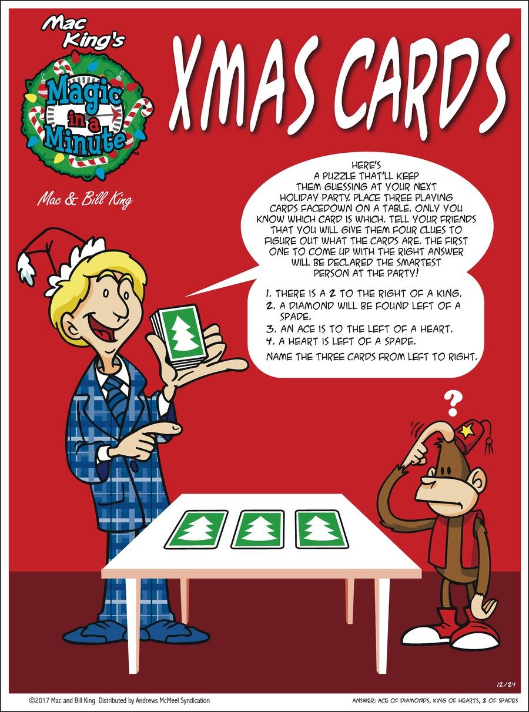 Magic in a Minute Comic Strip for December 24, 2017