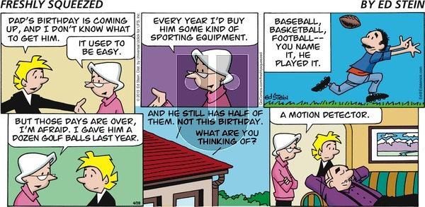 Freshly Squeezed - Sunday May 10, 2020 Comic Strip