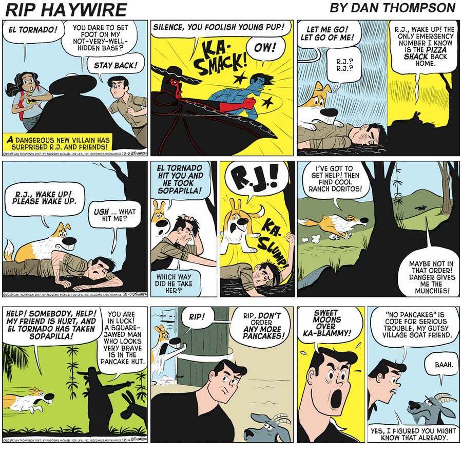 Rip Haywire Comic Strip for May 16, 2021