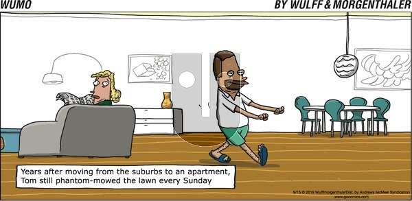 WuMo on Sunday September 15, 2019 Comic Strip