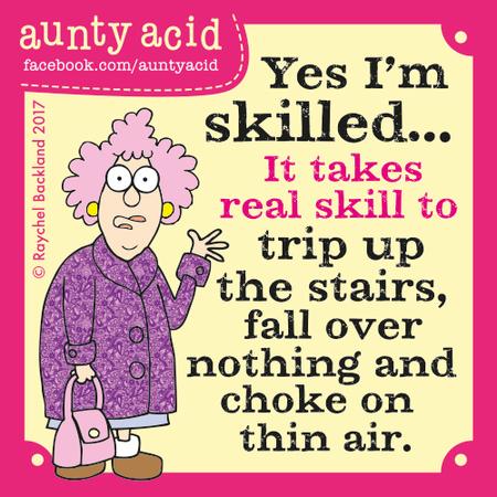 Aunty Acid for Jul 10, 2017 Comic Strip