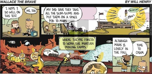 Wallace the Brave - Sunday September 15, 2019 Comic Strip