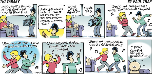 Thatababy for Mar 13, 2011 Comic Strip