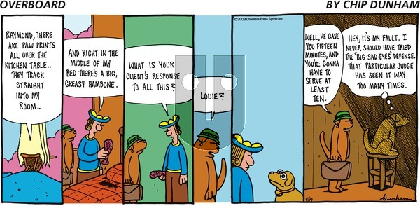 Overboard on Sunday April 19, 2009 Comic Strip