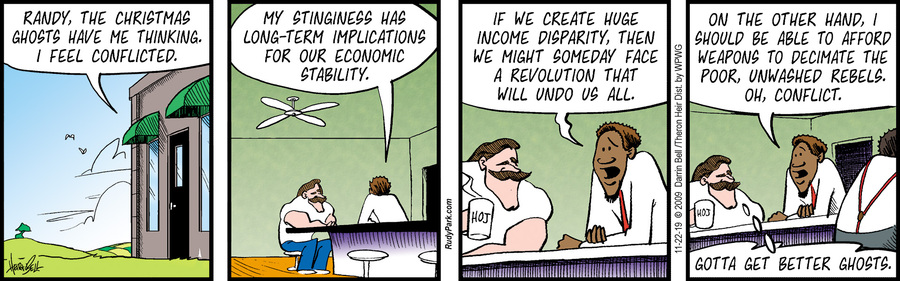 Rudy Park Comic Strip for November 22, 2019