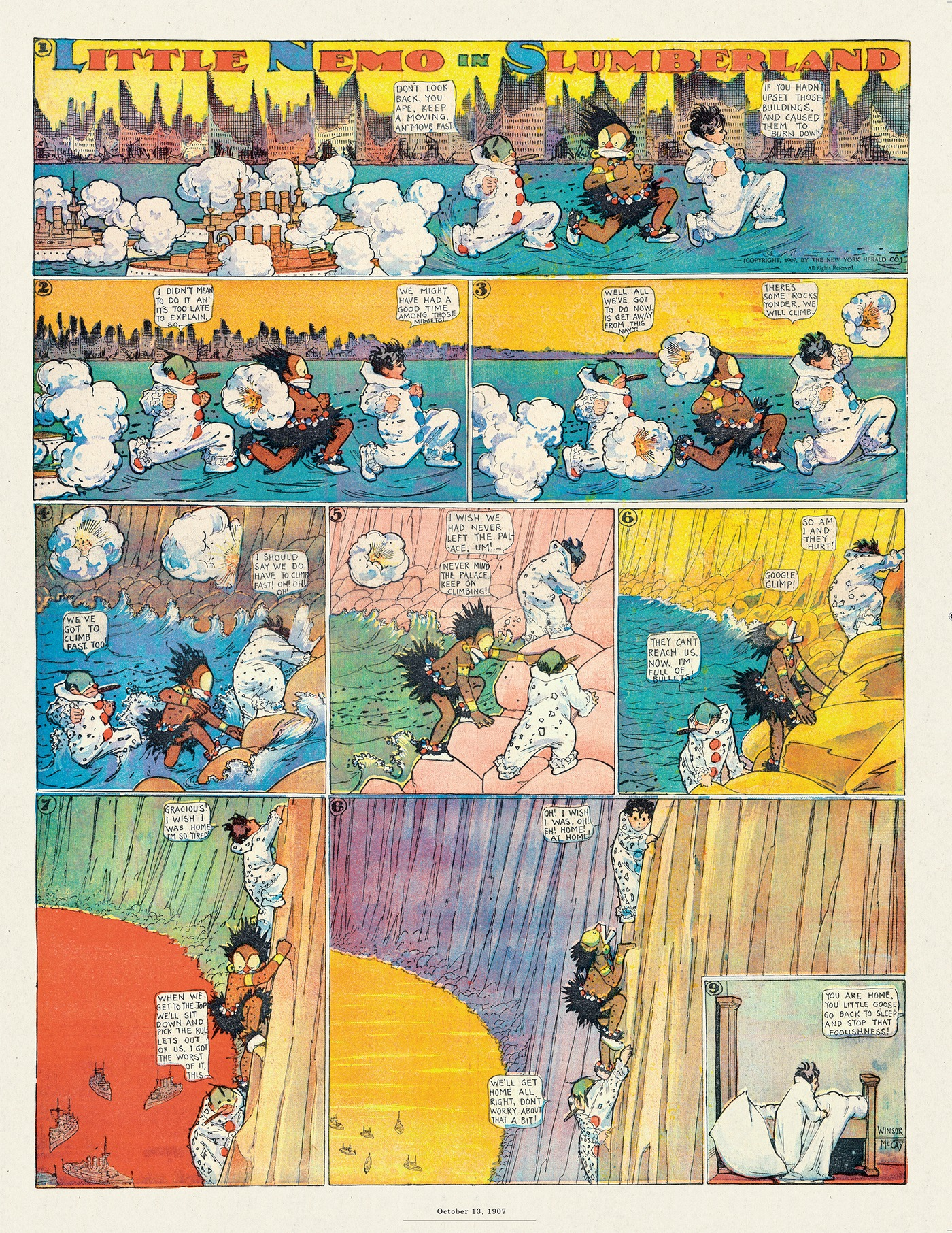 Little Nemo by Winsor McCay on Thu, 06 Aug 2020