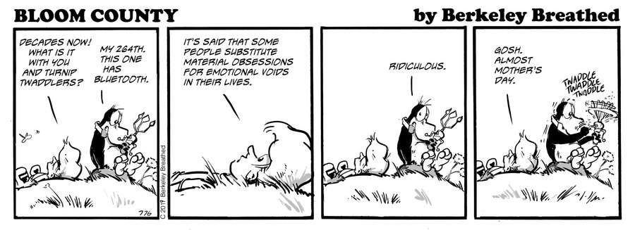 Bloom County 2019 Comic Strip for May 18, 2019