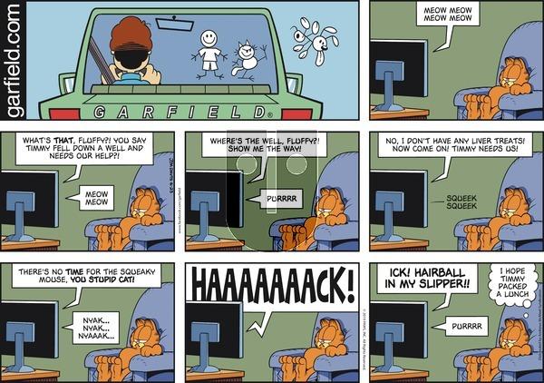Garfield on Sunday June 23, 2019 Comic Strip