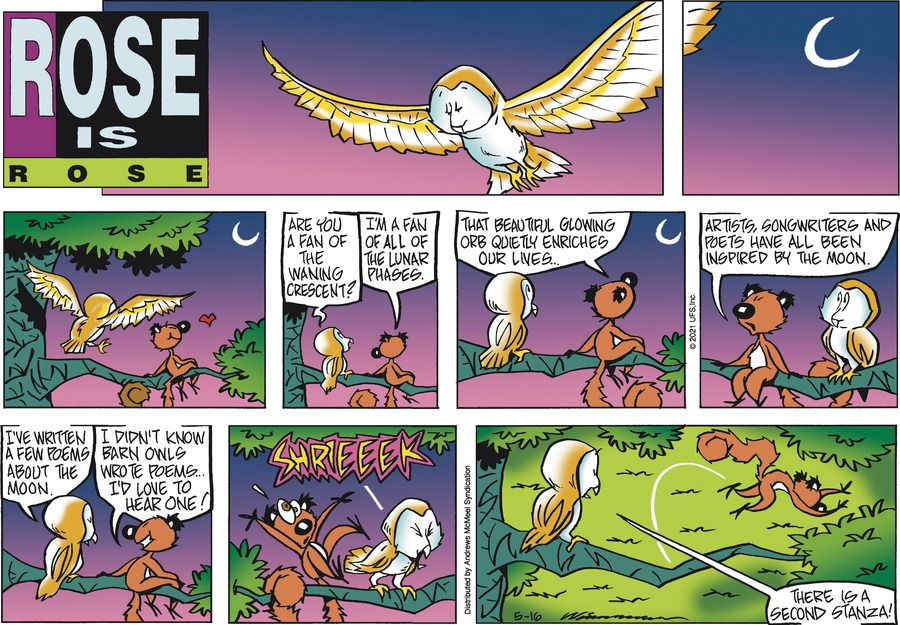 Rose is Rose Comic Strip for May 16, 2021
