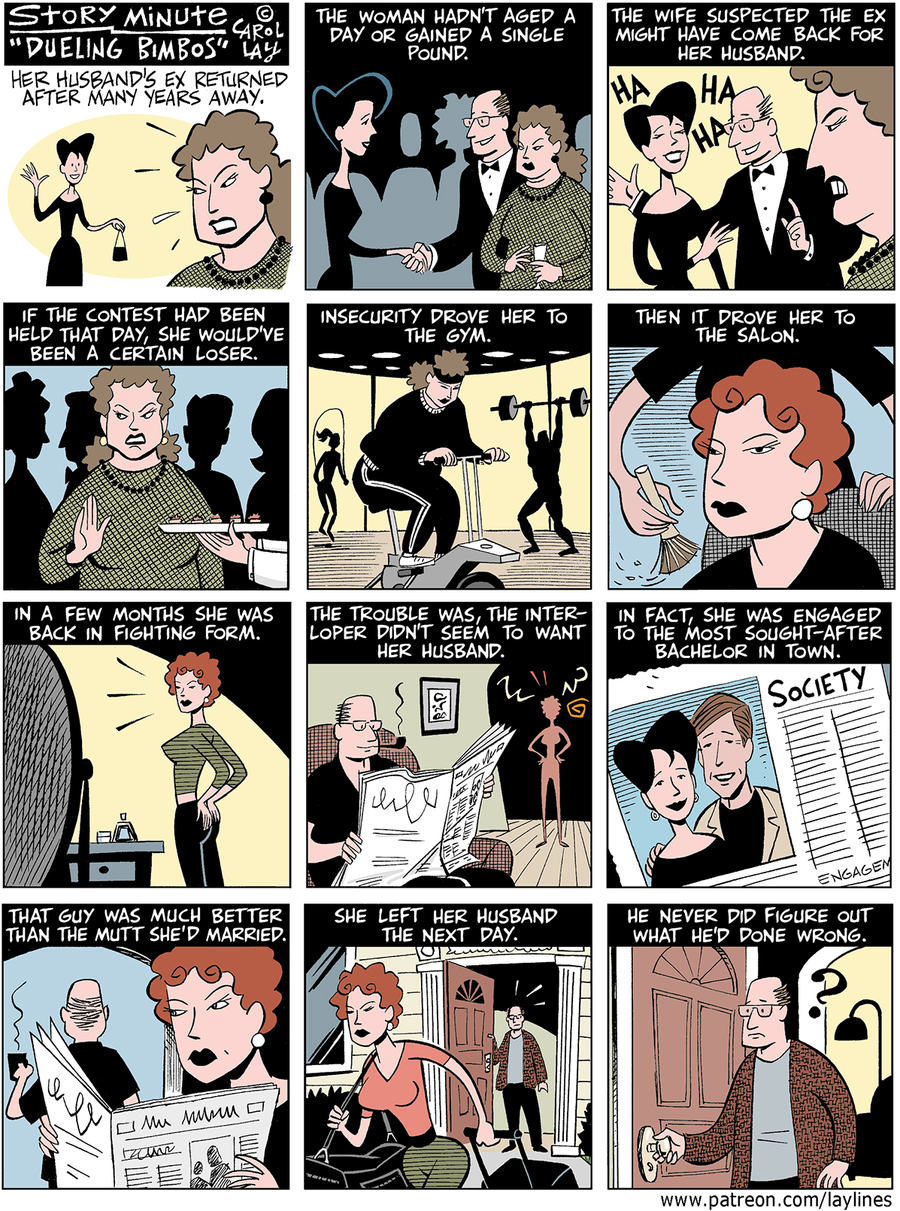 Lay Lines Comic Strip for November 14, 2015