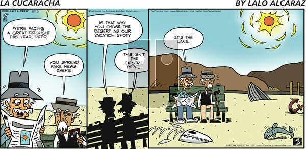 La Cucaracha on Sunday August 15, 2021 Comic Strip