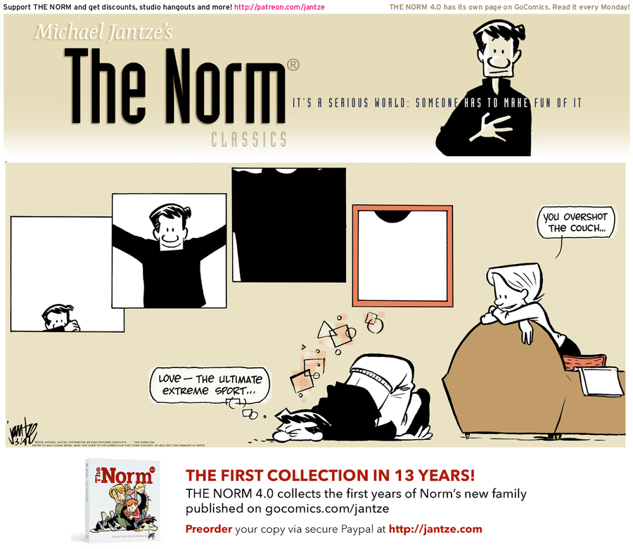 The Norm Classics Comic Strip for March 24, 2019