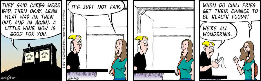 Rudy Park Comic Strip for May 15, 2021