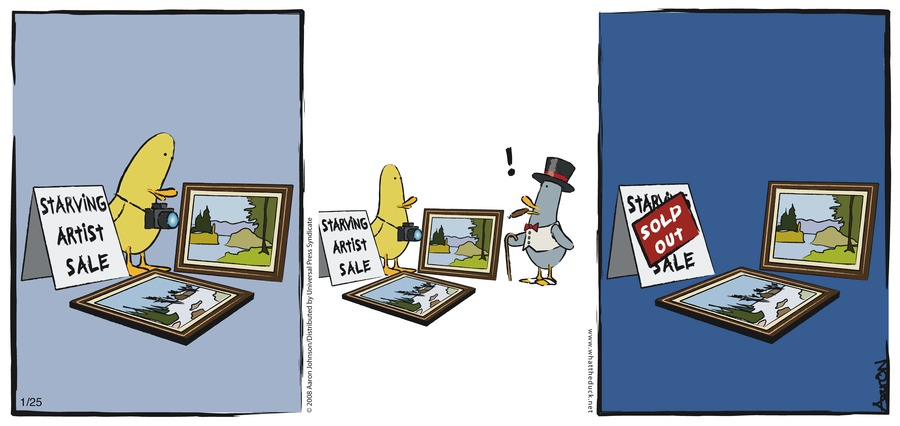 W.T. Duck Comic Strip for August 28, 2016