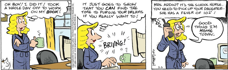 Edge City by Terry and Patty LaBan for March 03, 2019