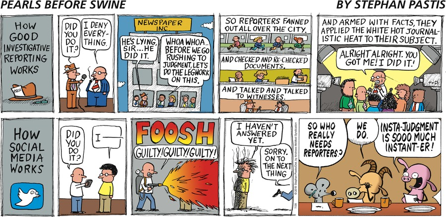 Pearls Before Swine Comic Strip for July 28, 2019