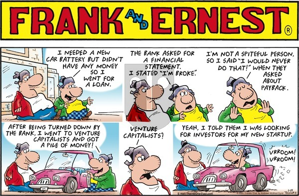 Frank and Ernest on Sunday January 19, 2020 Comic Strip