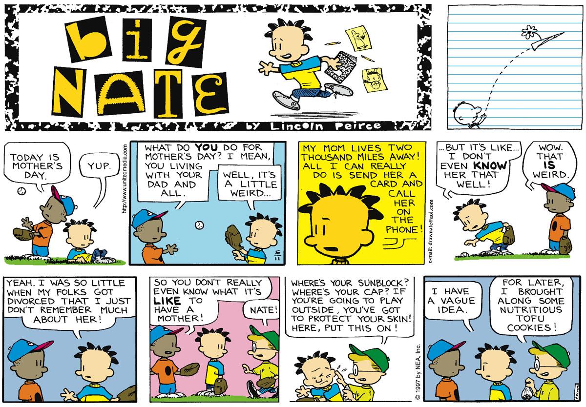 Big Nate Comic Strip for May 11, 1997