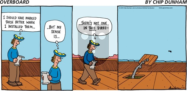 Overboard on Sunday March 31, 2019 Comic Strip