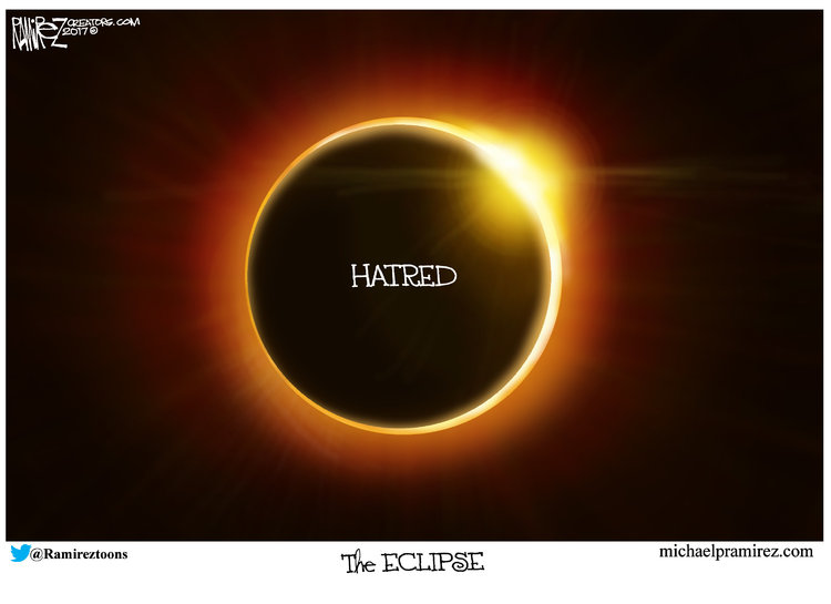 Michael Ramirez Comic Strip for August 20, 2017