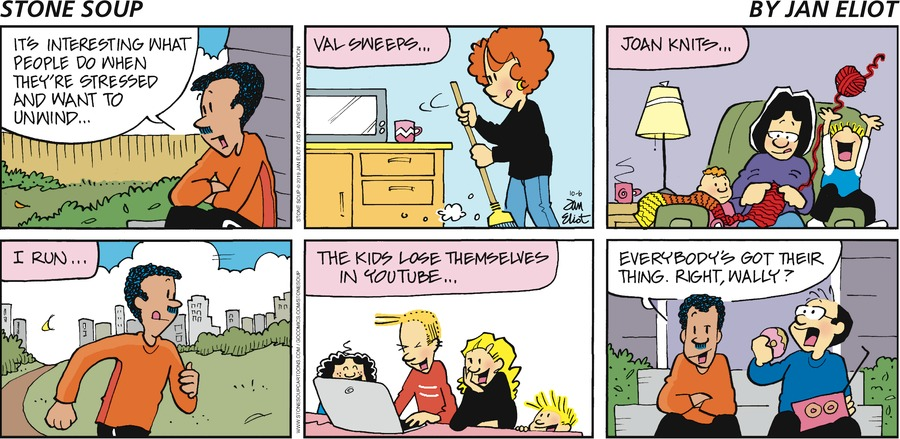 Stone Soup Comic Strip for October 06, 2019